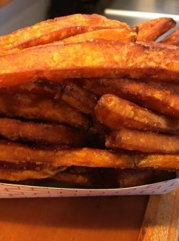 sweet potato fries wild willys burgers